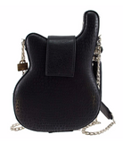 Greatest Hits Embellished Electric Guitar Crossbody Handbag