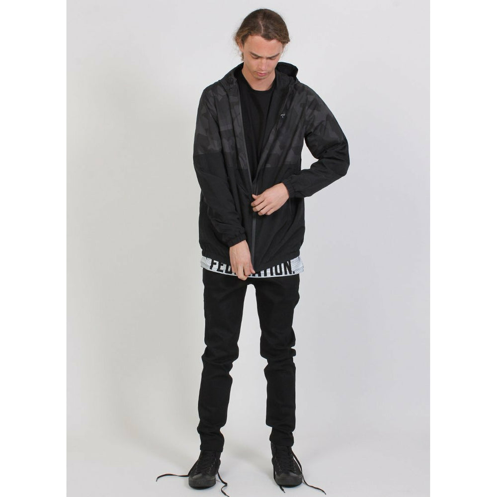 Federation Apollo Jacket - Black Stripe
