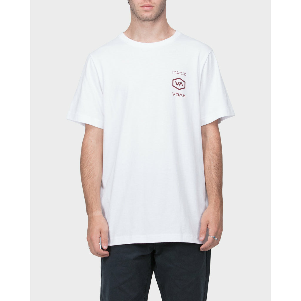 RVCA The Balance Of Opposites Tee - White
