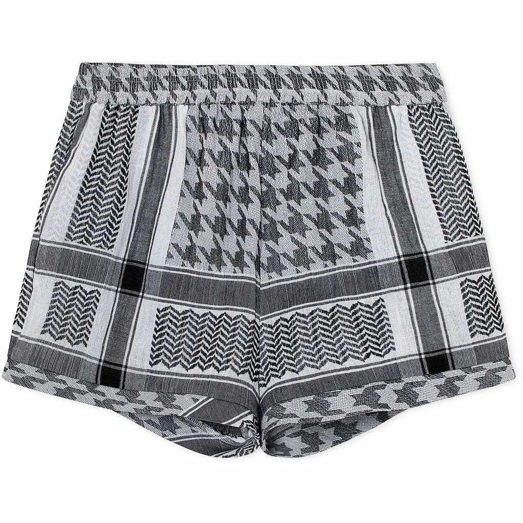 Cecilie Copenhagen Shorts Light - Black/White