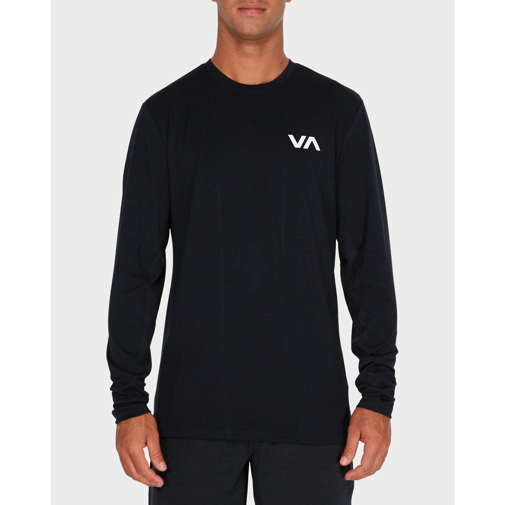 RVCA VA Vent LS Top - Black