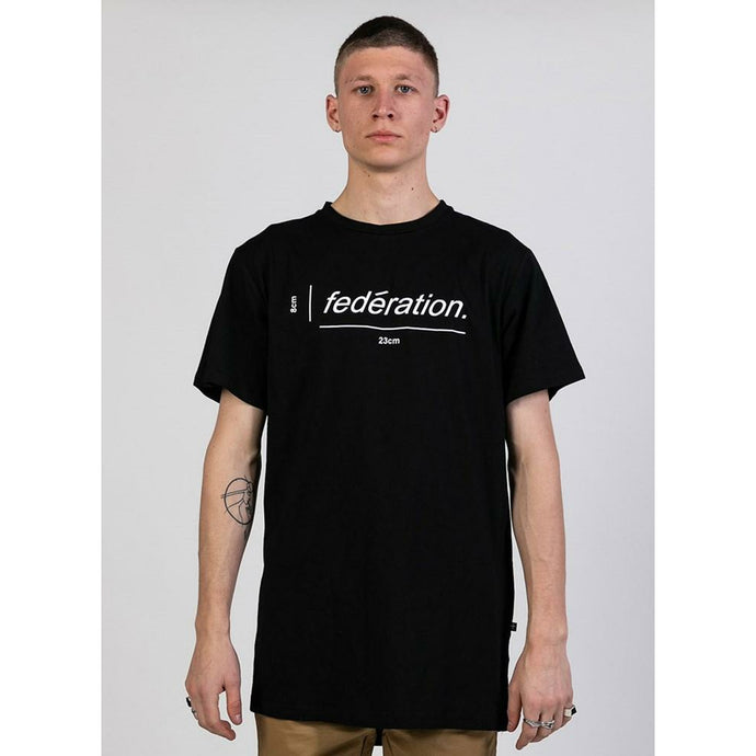 Federation Aye Tee To Spec - Black