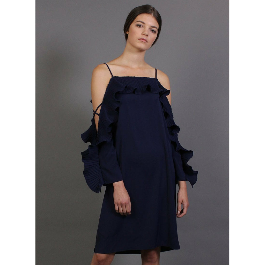 Somekind Ladder Dress - Navy
