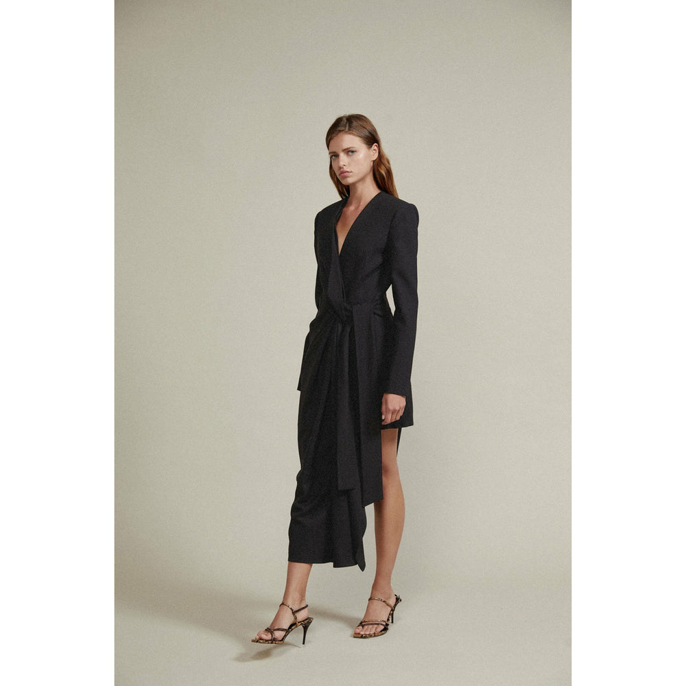 Acler Dresden Blazer Dress - Black