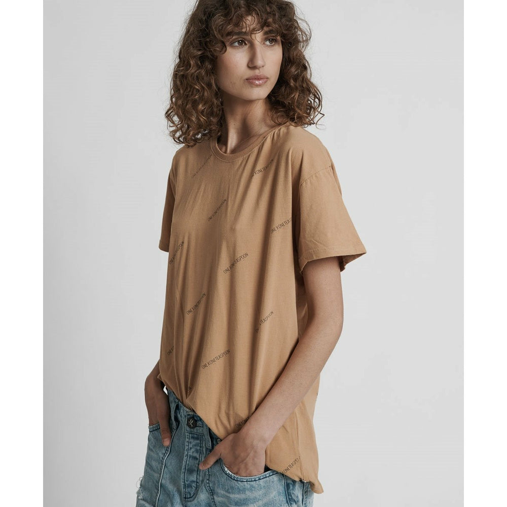One Teaspoon Signature Tee - Tan