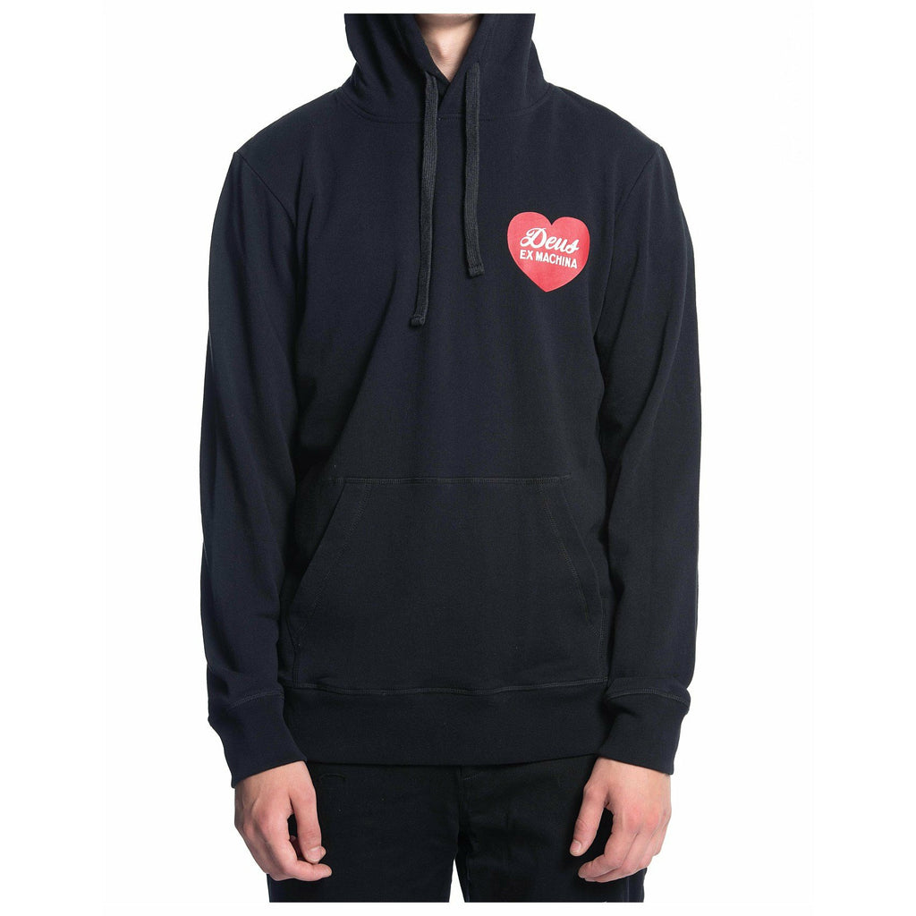 Deus Ex Machina Sentiments Hoodie - Black