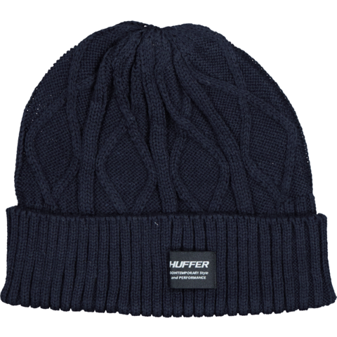 Huffer Cable Beanie - Indigo