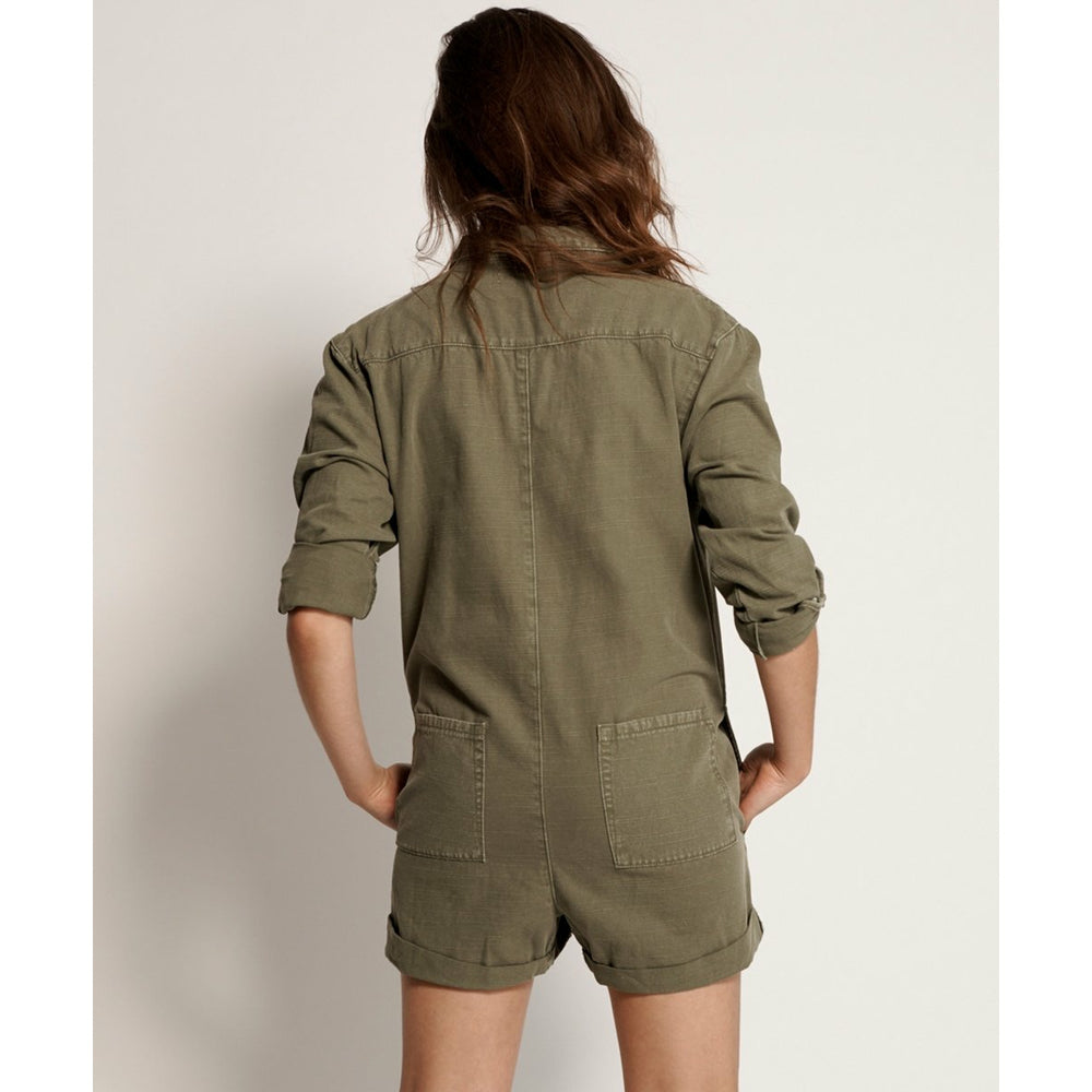One Teaspoon Khaki French Prophecy Jumpsuit - Khaki