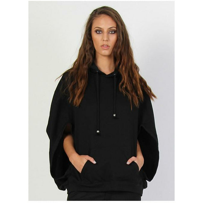 Federation The Sweat Cape - Black