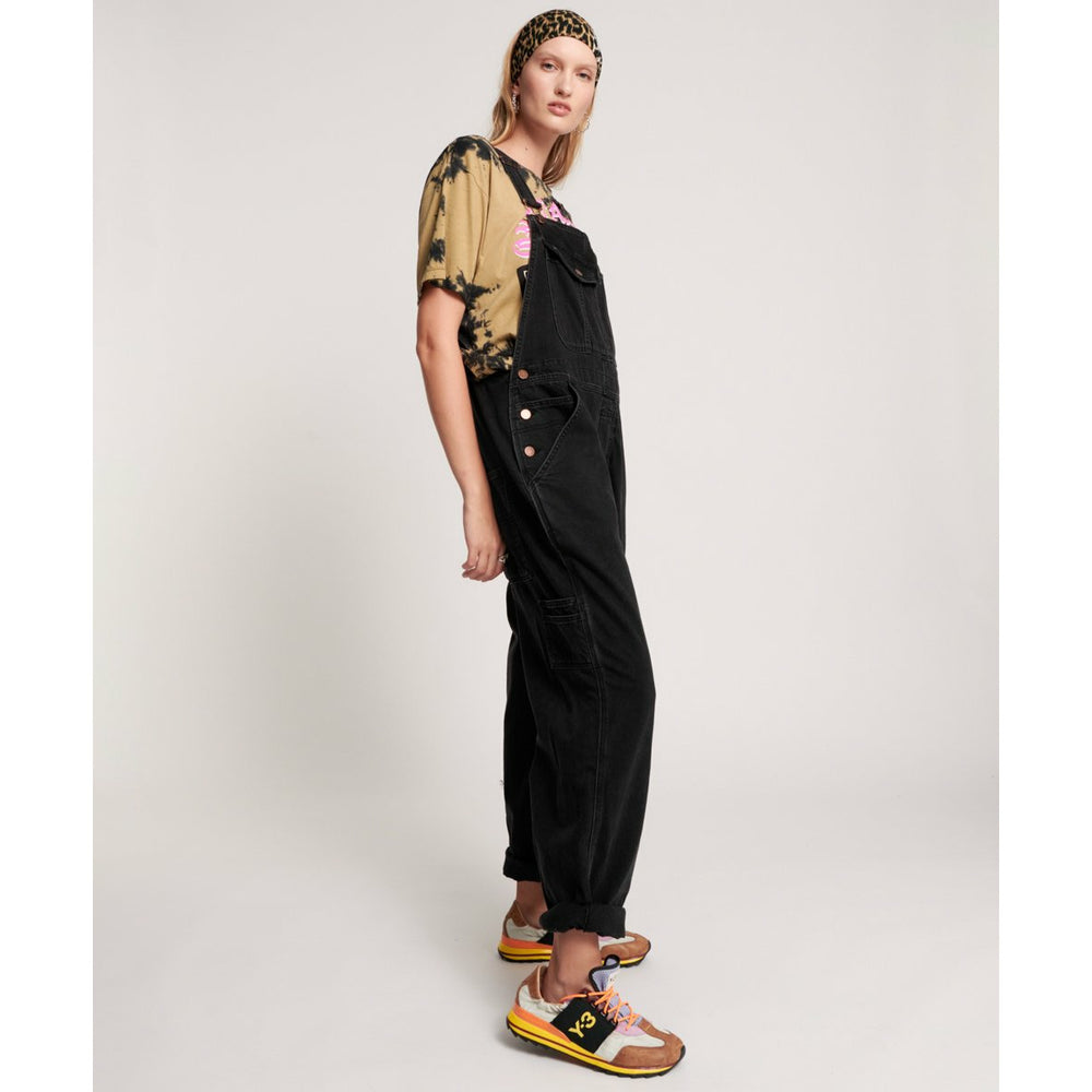 One Teaspoon Worn Black Stanton St Overalls - Worn Black