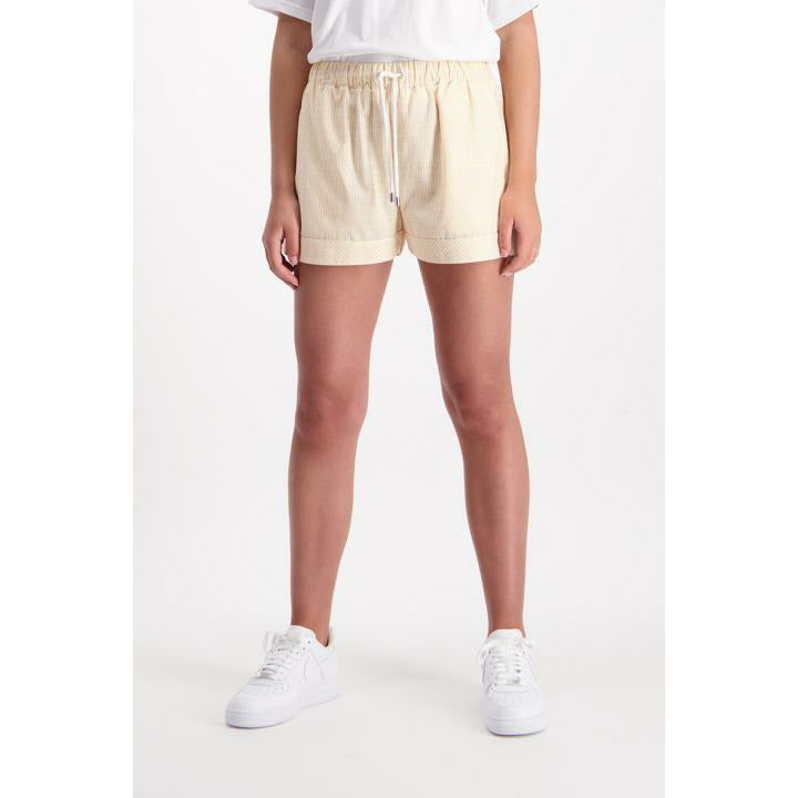 Huffer MidSummer Skipper Short -Yellow/White