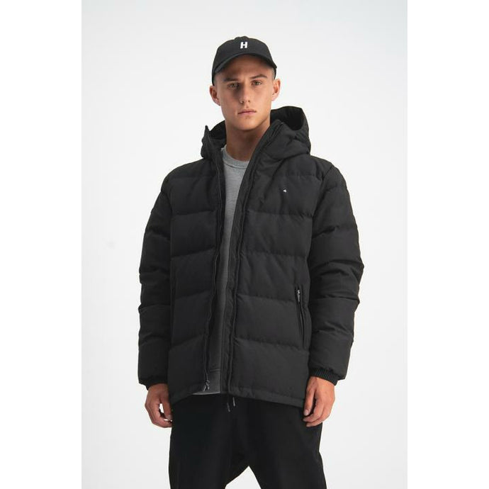 Huffer Classic Down Jacket - Black