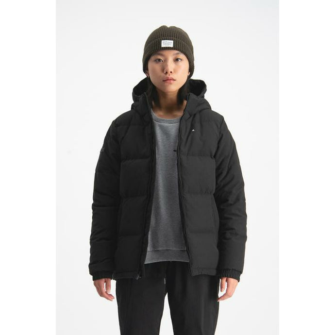 Huffer Womens Classic Down Jacket - Black