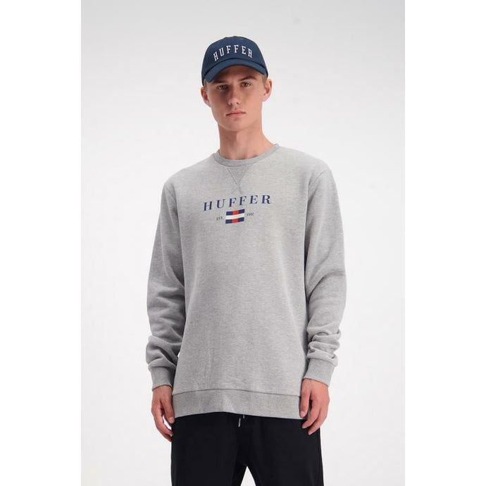 Huffer Mr Tom True Crew - Grey Marle