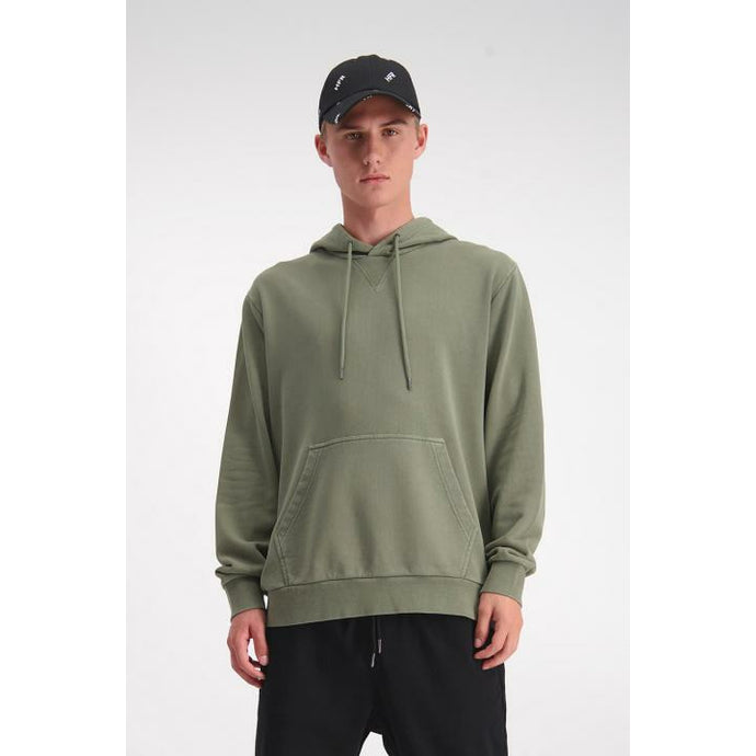 Huffer True Hood/Cont Badge - Khaki