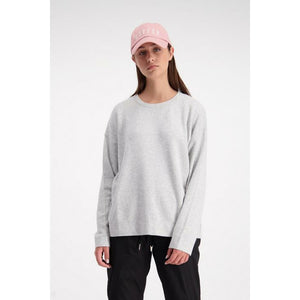 Huffer Neve Knit Crew - Grey Marle