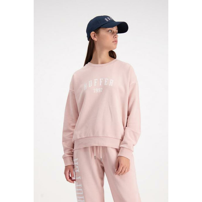 Huffer Slouch Crew HFR Colour - Dusty Pink