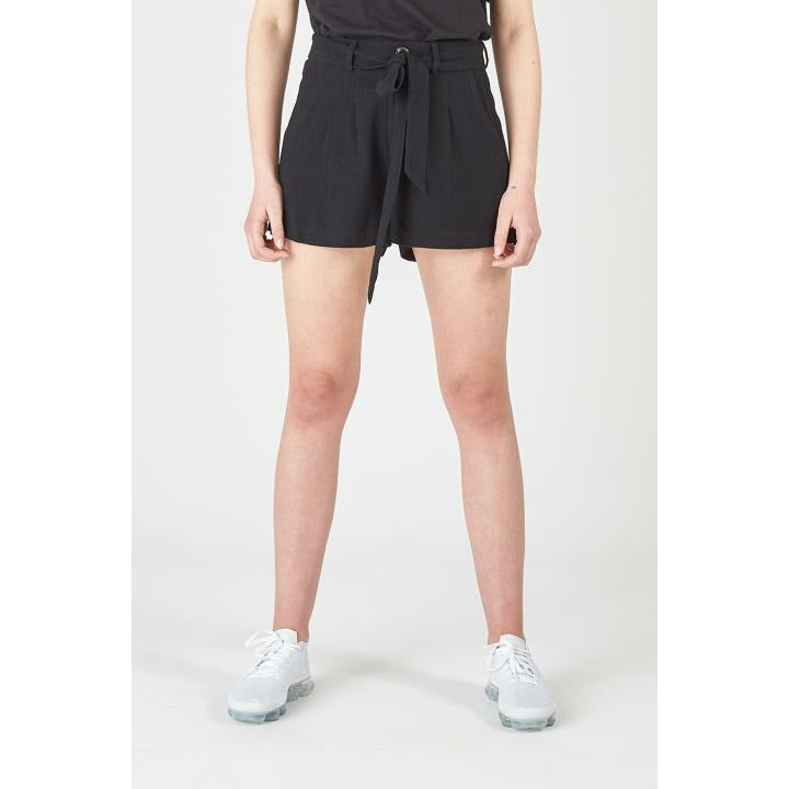 Huffer Laforet Bow Shorts - Black