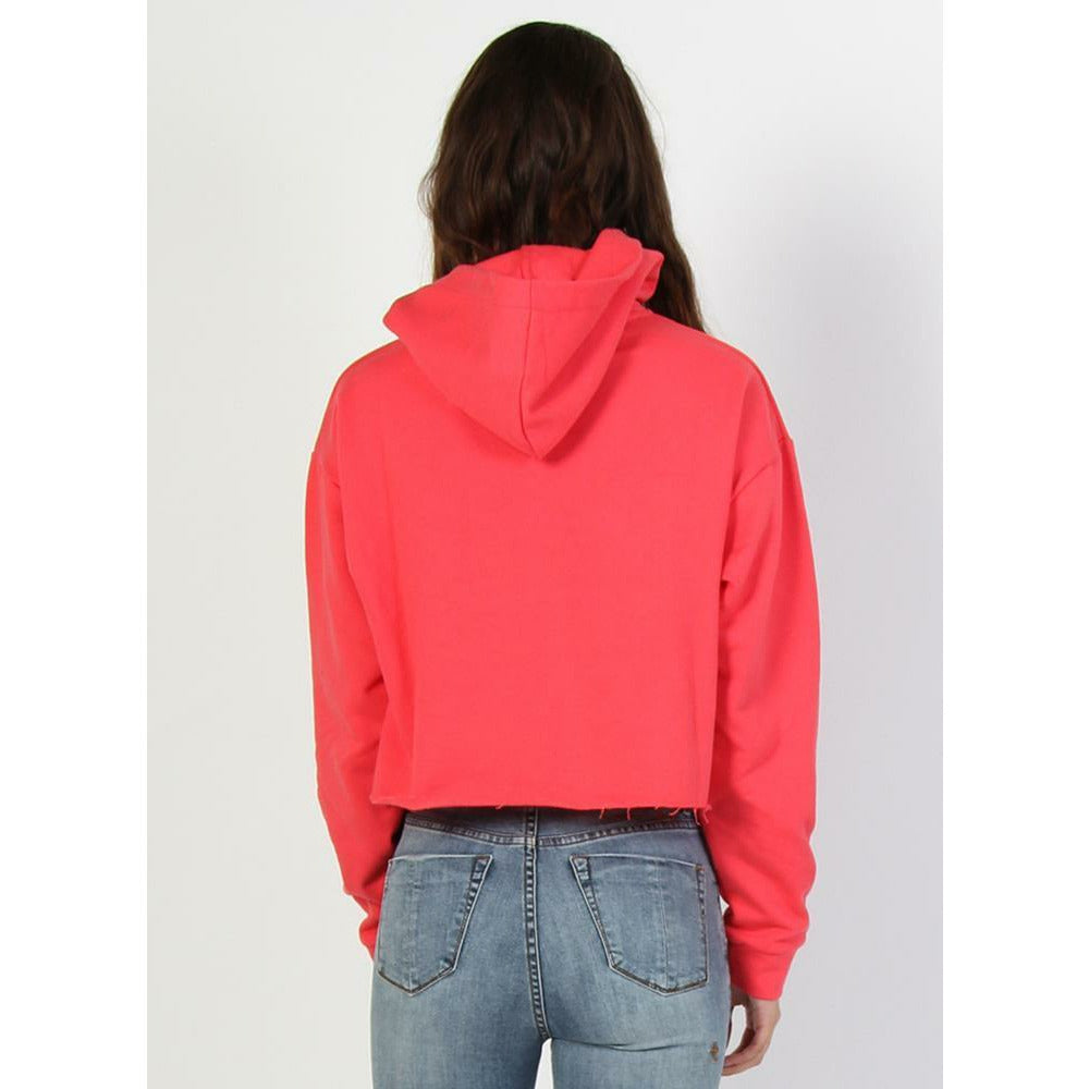 Federation Chop Hood Embroid - Strawberry