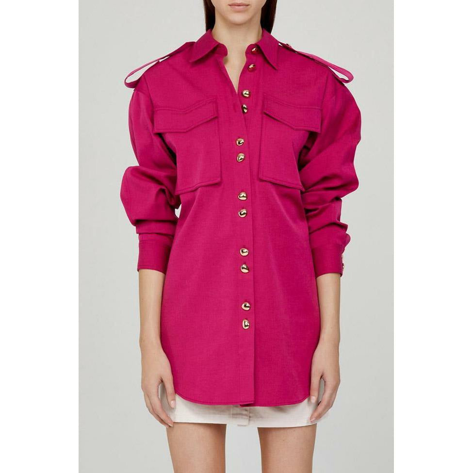 Acler Ultra Pink Parkway Shirt - Pink