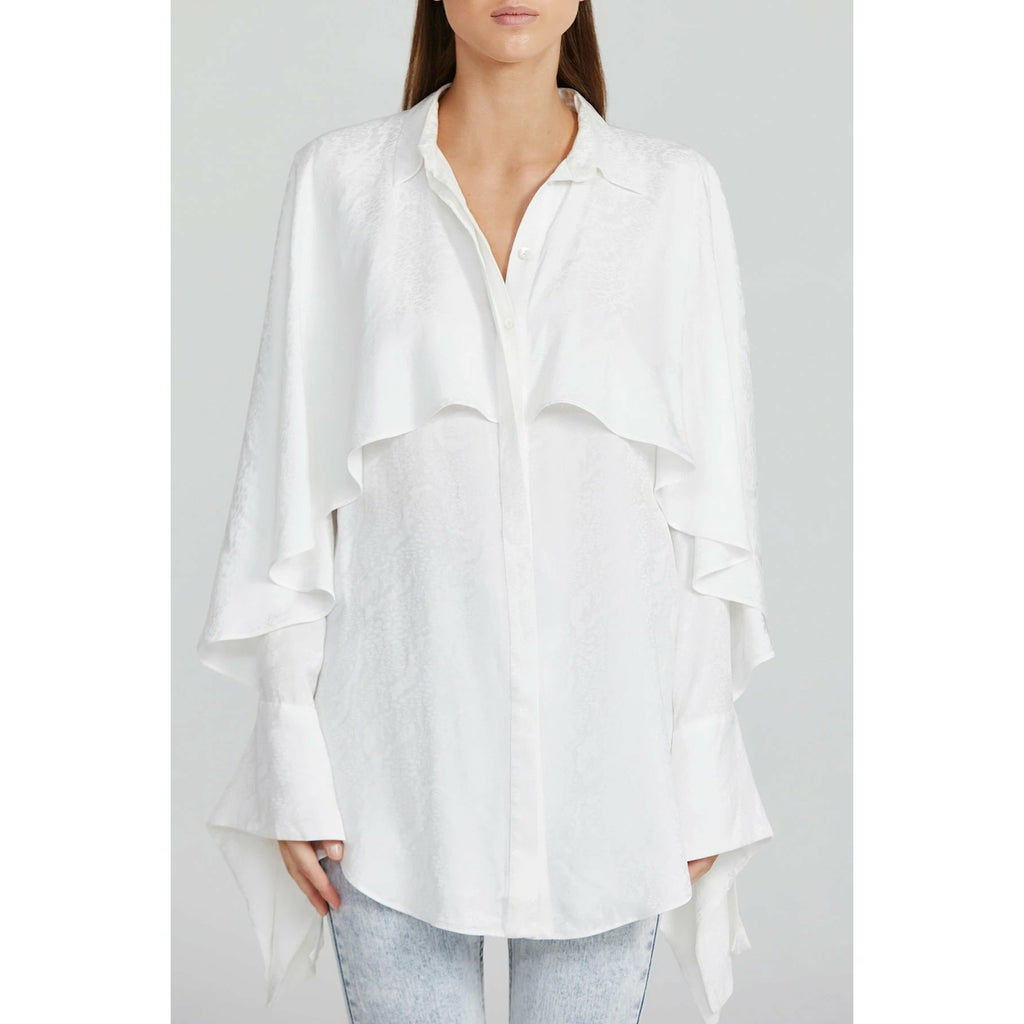 Acler Stanley Top - Ivory