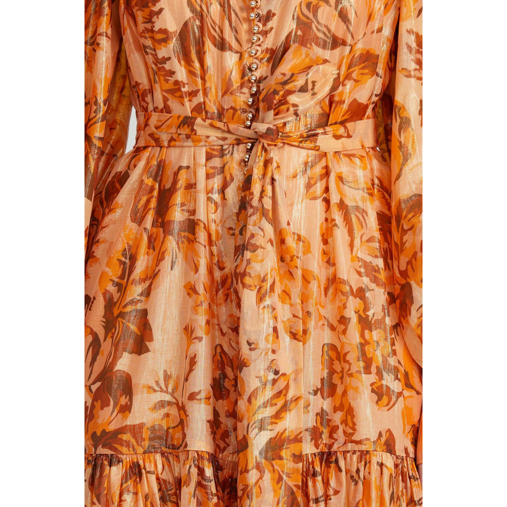 Acler Naples Dress - Floral Shimmer