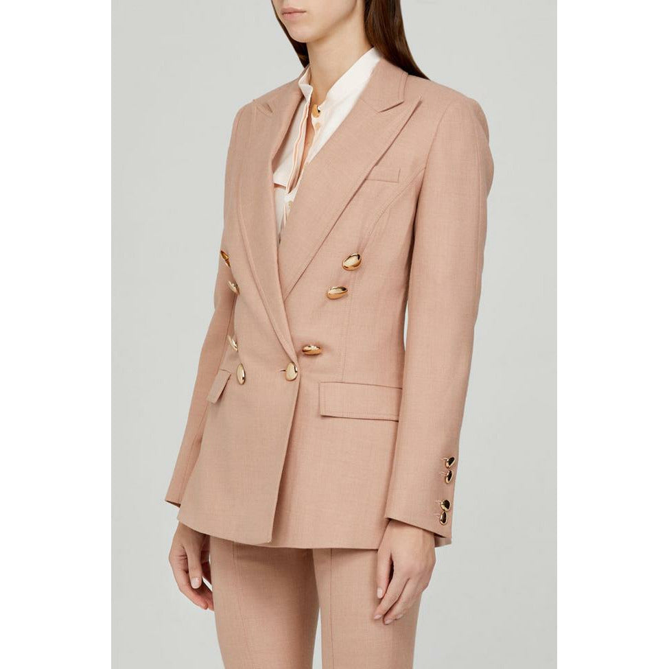 Acler Fisher Blazer - Dusty Pink