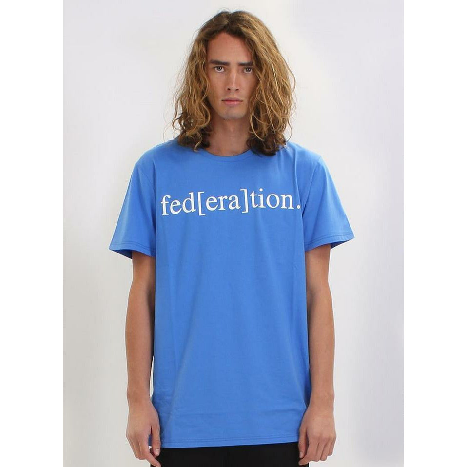 Federation Aye/Era Tee - Royal
