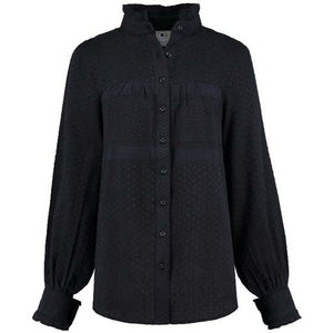 Rough Studios Brody Blouse - Blue/Black