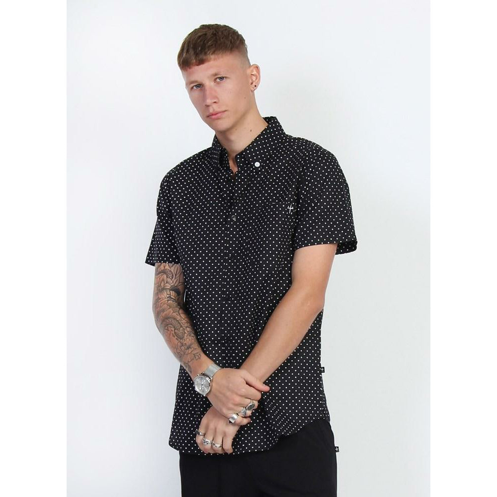 Federation Division Shirt - Black Dot