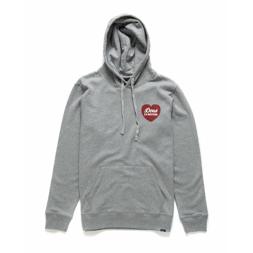 Deus Ex Machina Sentiments Hoodie - Grey Marle