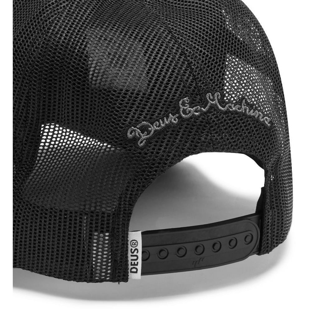 Deus Ex Machina Pill Trucker - Black