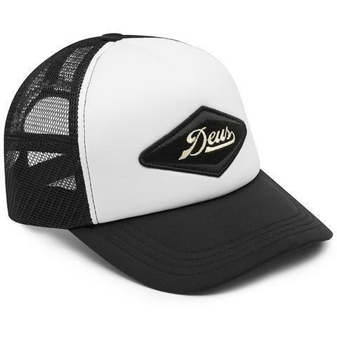 Deus Ex Machina Diamond Trucker - Black/White