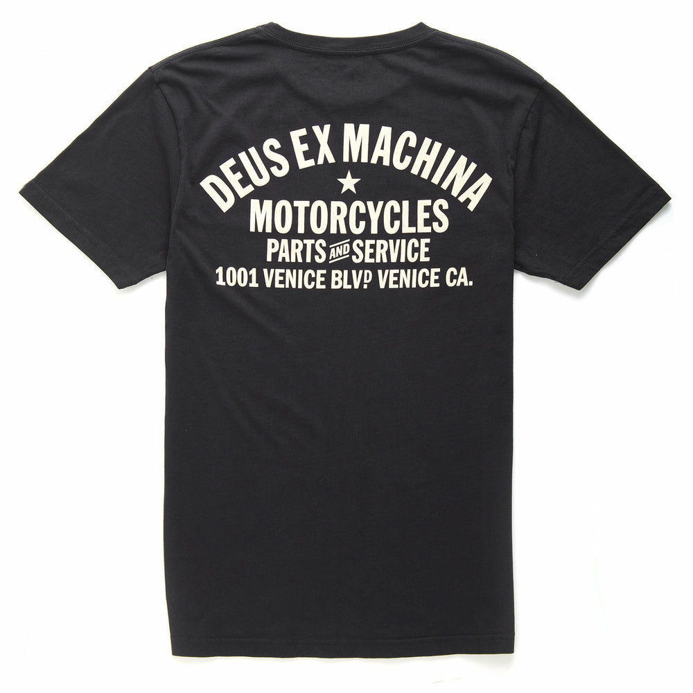 Deus Venice Address Tee - Black