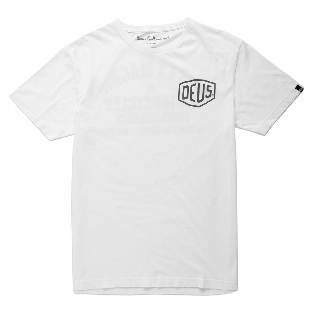 Deus Milano Address Tee - White