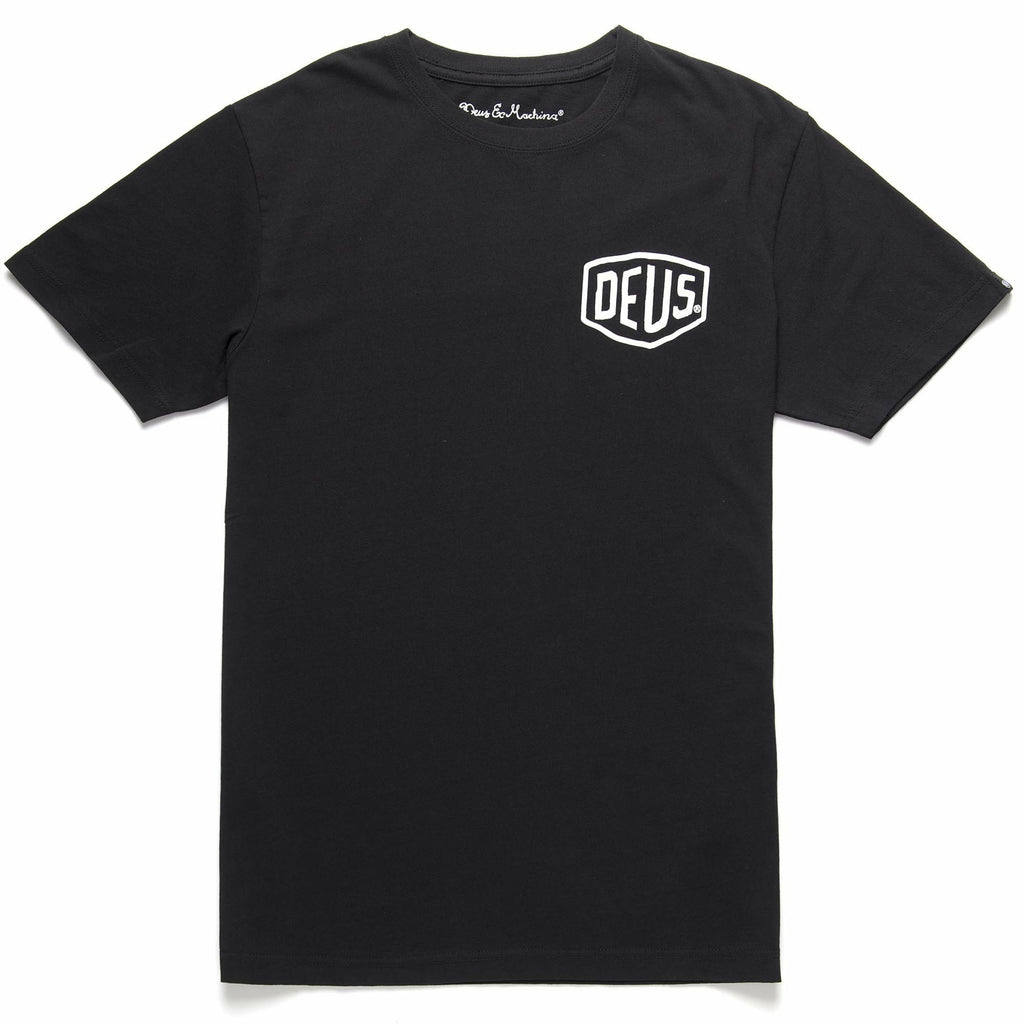 Deus Milano Address Tee - Black