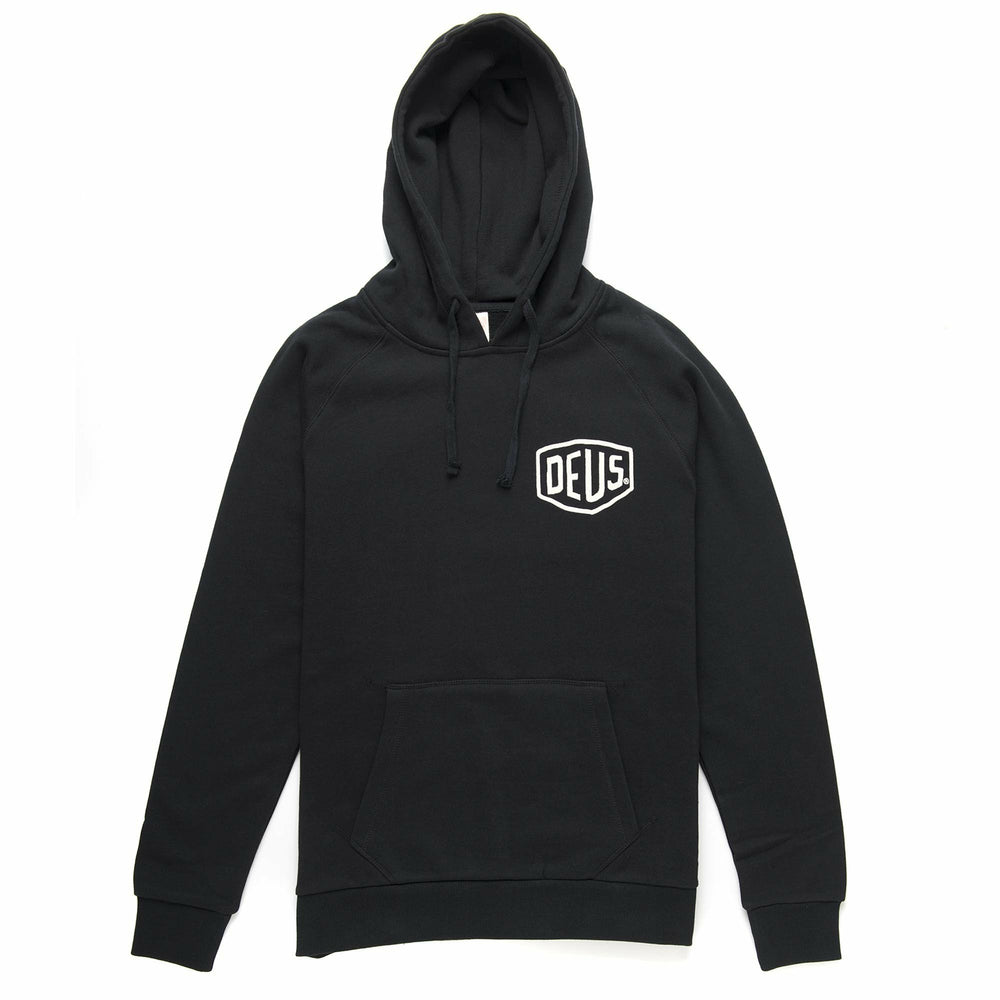 Deus Venice Address Hoodie - Black