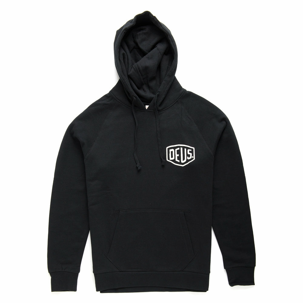 Deus Milano Address Hoodie - Black