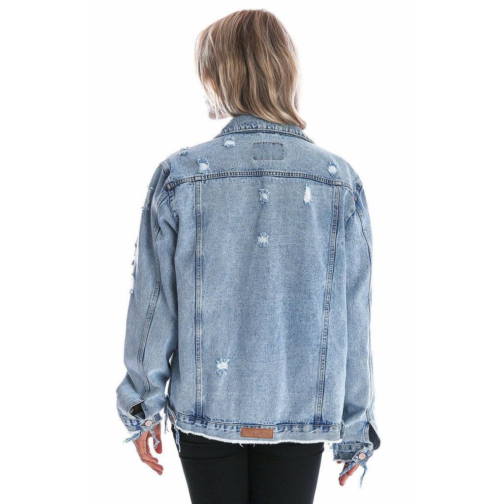 Beau Hudson Distressed Denim Jacket