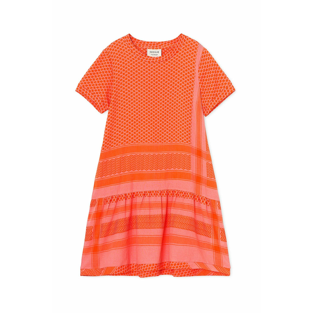 Cecilie Copenhagen Dress 2 O Short Sleeve - Flush