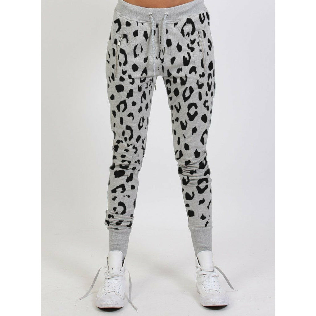 Federation Escape Trackies - Grey Leopard