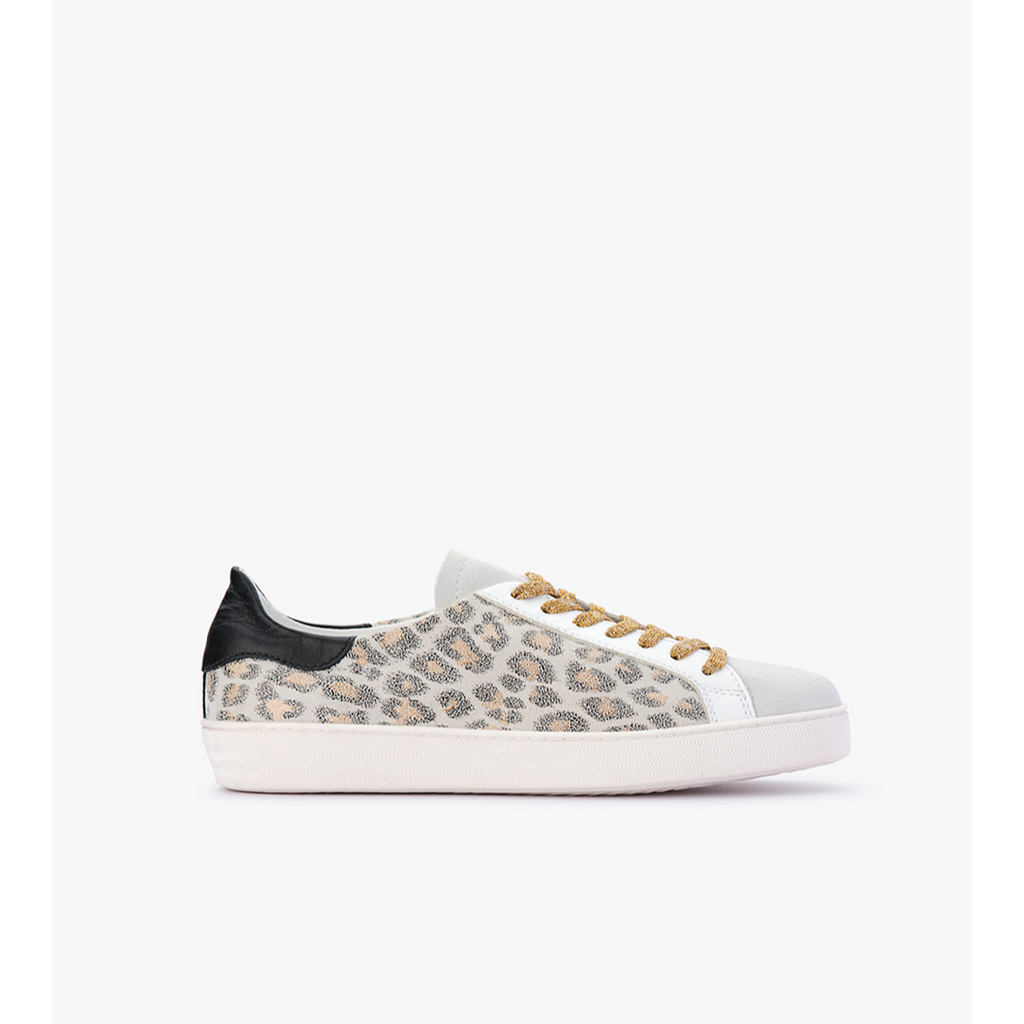 Department Of Finery Indiana - White/Leopard