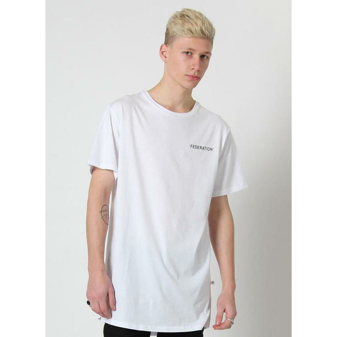 Federation Look/Words Tee - White