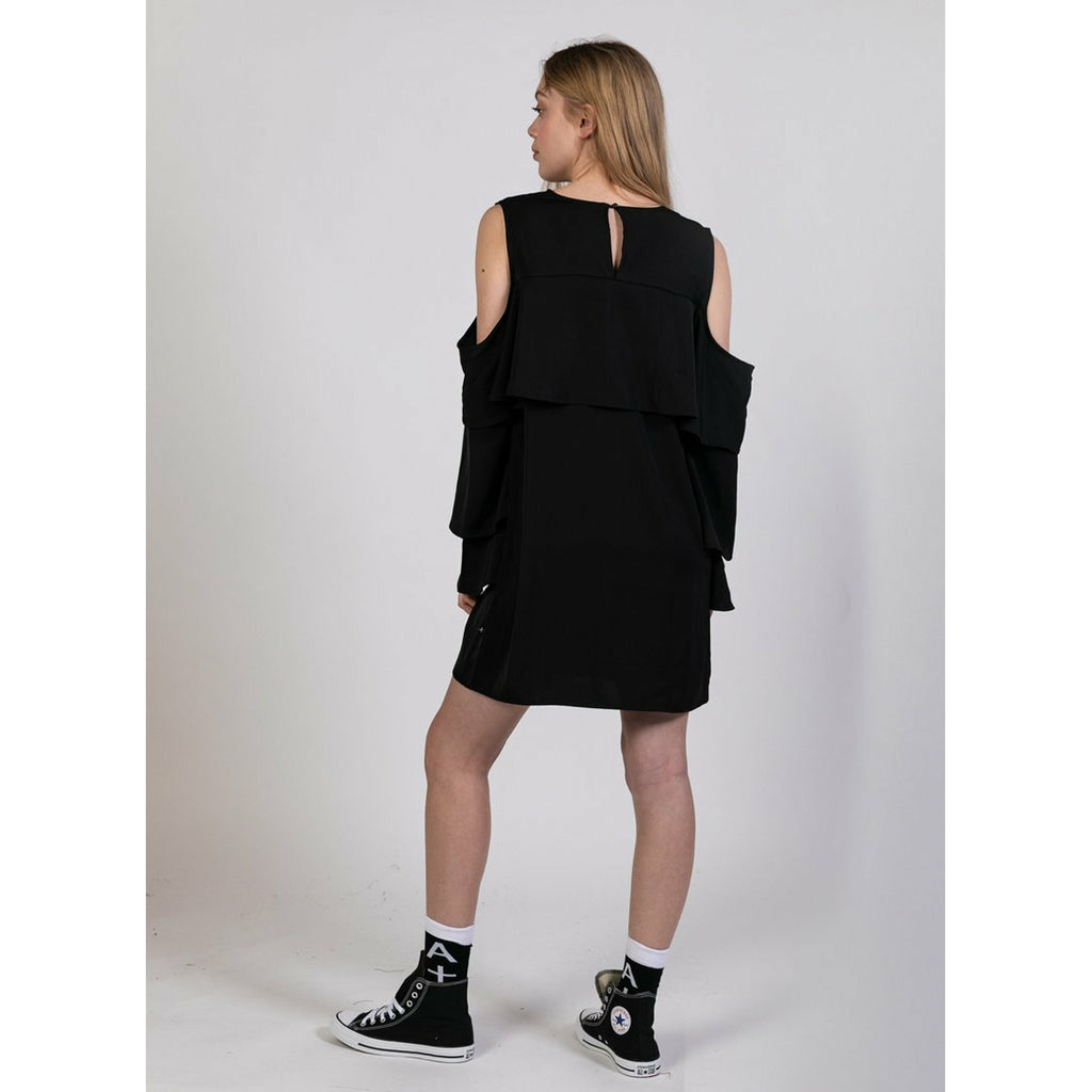 Federation Layer Dress - Black