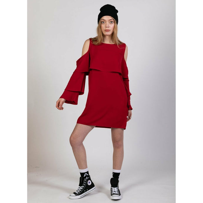 Federation Layer Dress - Red