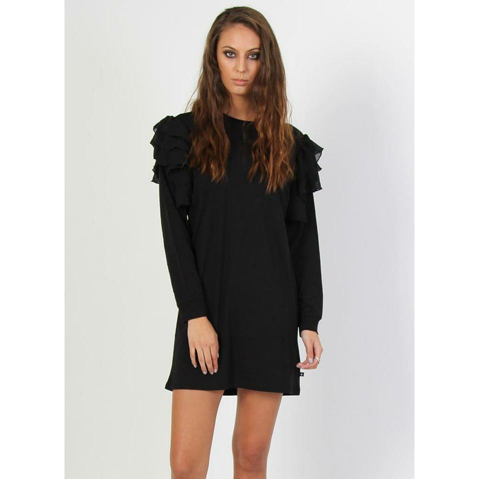 Federation Butterfly Dress - Black