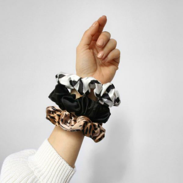 Senso Scrunchie Pack In Fauna
