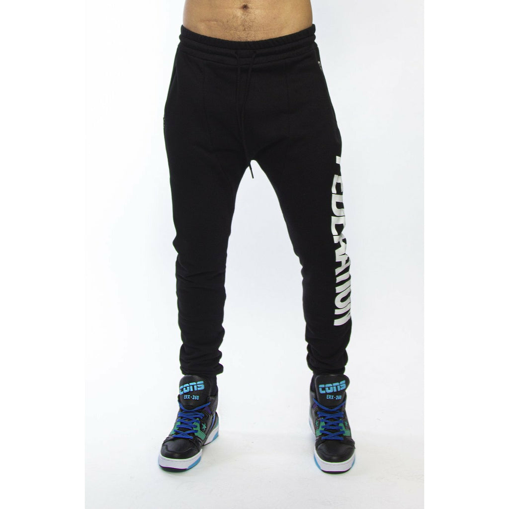 Federation Inside (Lean) Trackies - Black
