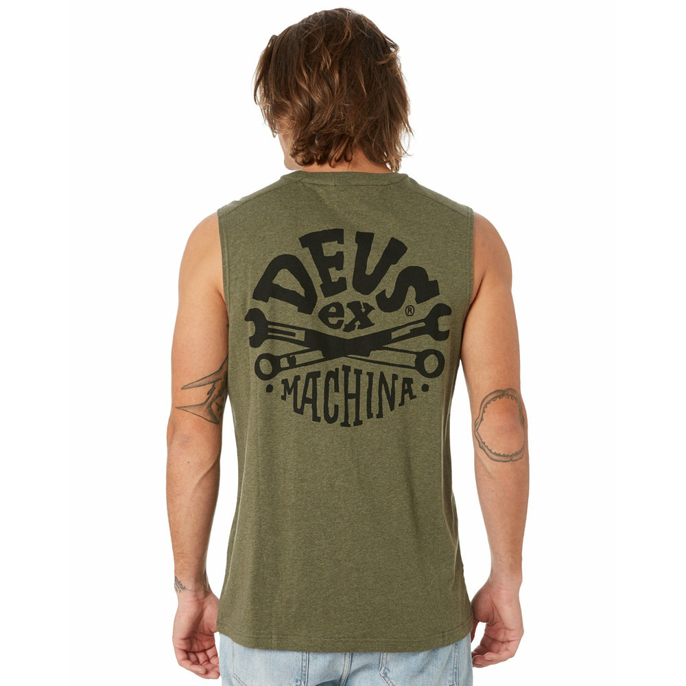 Deus Ex Machina Spannar Muscle - Leaf Marle
