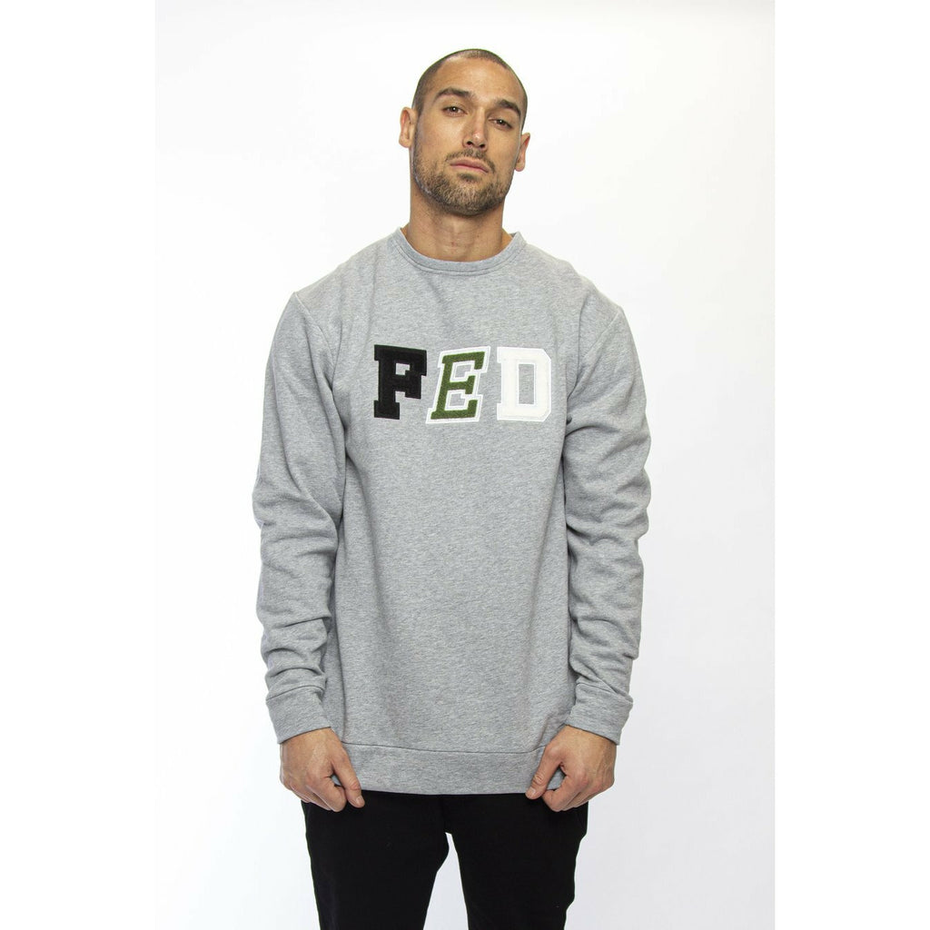 Federation Letter (Run) Crew - Grey Marle